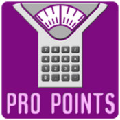 Pro Points Calculator barcode contain pro