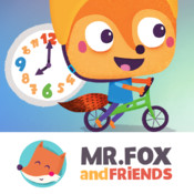 What's the Time Mr.Fox - Helping toddlers and preschoolers learn concepts of time telling and daily routine. A fun, educational, interactive time-based game from Mr.Fox and Friends