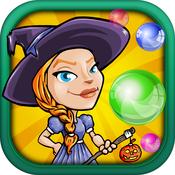 Falling Witch Bubble - Avoid Dropping Fizz Saga FREE
