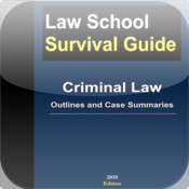 Criminal Law: Outlines and Case Summaries (Law School Survival Guides) chase law school