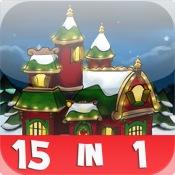 Santa`s Christmas Village 15-in-1