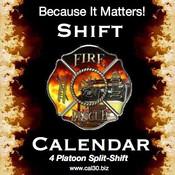 firefighter shift new calendar template site. Black Bedroom Furniture Sets. Home Design Ideas