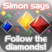 simon says. HD PRO. simon says diamonds memory game.
