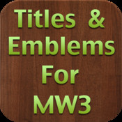 A Titles and Emblems Tracker for Modern Warfare 3 (MW3)