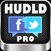 Hudld Pro - Facebook and Twitter social networking app facebook social networking