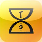 World money clock-Time is money.-