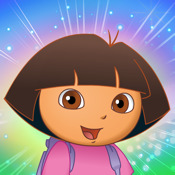 Dora Saves the Crystal Kingdom - Rainbow Ride collect all the crystals