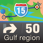 Mobile Maps Gulf Countries