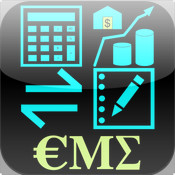 CalcMadeEasy - Multipurpose Calculator : Finance, Units, Scientific, Notepad with Auto Note and AirPrint finance note