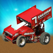 Dirt Racing Sprint Car Game sprint car