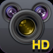 Photo Magic Editor for iPad 2 - take photos with app camera and edit with different tools different