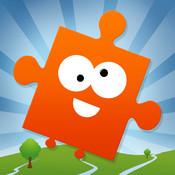 JiGi`s Jigsaw World Journey - Puzzle Game for Kids