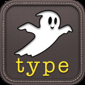 Ghost Type - a typing tutor to master your iPad typing skills kids typing games