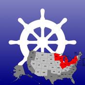Charts&Tides (US Great Lakes)