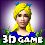 Alice In Wonderland ( A 3D Cartoon Arcade & Action Game - by Free Fun Kids Games )