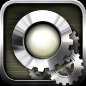 LED Machines - LED flashlight, alarm clock, morse machine, compass & weather forecast for iPhone 4