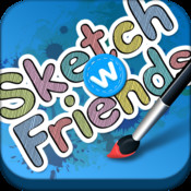 Sketch W Friends for iPhone