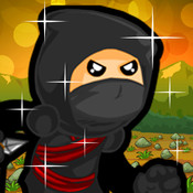Aaron Crazy Ninja Rush - The fire age of ninja jump and run ninja