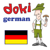 Learn Basic German with Doki for the iPhone