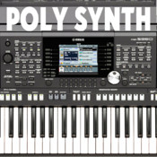 Polyphony synthesizer with a low delay (low latency musical synth) and distortion HD version FULL
