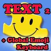 Text2Smiley for iPad (with Global Emoji Keyboard)