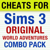 Cheats for Sims 3 and Sims World Adventures (Combo Pack)