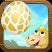 Dinosaur Egg Drop Challenge - Falling Eggs Game For Kids