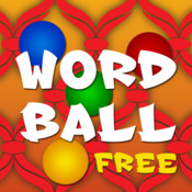Word Ball Free - A Fun Word Game and App for All Ages by Continuous Integration Apps word•