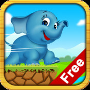 Elephant Run Free - Addictive Animal Running Game