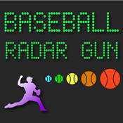 Baseball Radar Gun High Heat