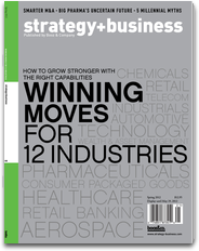 strategy+business magazine mobile