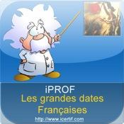 Histoire de France, les grandes dates avec iProf