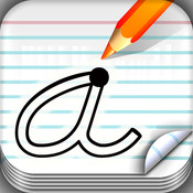 School Fonts - learn to write your abc, numbers, words and more.