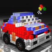 3D Pixel Racing All Contents Unlocked at Start