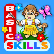 Abby Basic Skills - Preschool: Counting, Letters, Shapes, Colors, Patterns, Sizes, Same and Different, Puzzles, Shadows, Matching HD different