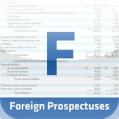 Foreign Prospectus Filings