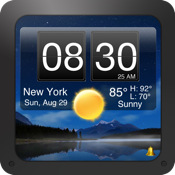 Nightstand Central for iPad Free - Alarm Clock with Weather and Wallpaper