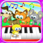 Kids Animal Piano - preschool music game HD