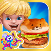 Funny Burger - Make Your Own Crazy Chef Hamburgers