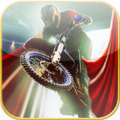 Stunt Biker From Hell - 3D Fast Motorcycle Driving Racer Game, with movie making, quick asphalt burning action and endless fun movie making digital overlay