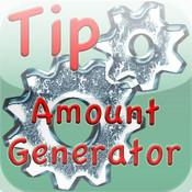 Tip Amount Generator - World`s easiest Tip Calculator!