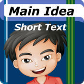Main Idea - Short Texts: Reading Comprehension Skills Game for Kids: School Edition