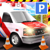 `Ambulance 3D Parking Simulator - Real Emergency Car Driving Simulator Racing Games rslogix simulator