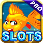 Big Fighting Fish Casino Slots Games : Fishing Out of Water in Vegas Kings Reef Dream Bonus Pro