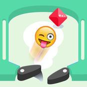 Emoji Pinball Free - Slap the Emoticon Face Ball and Crunch the Gem Machine
