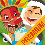 Kids World Cultures – educational games to travel around Planet Earth (Premium)