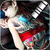 Tattoo Designs - Body Art Inked Photo Editor, Color Effects Booth