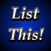 List This! list for