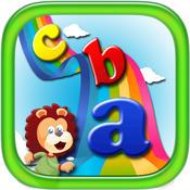 ABC type word Game is Fun for Preschool and Nursery Kids spelling