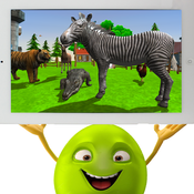 Play With Children Free -- 3D Zoo,Design for children and parents children